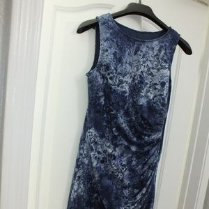 Adriana Papell Size 4 Blue Dress
